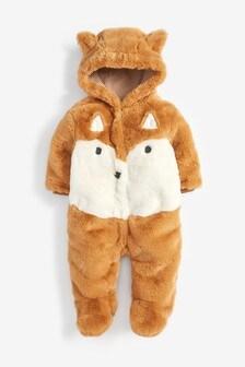 Costum întreg cu vulpițe (0 luni - 2 ani)