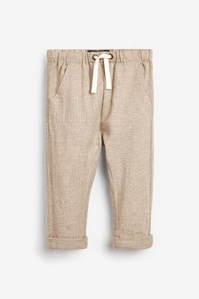 Linen Blend Trousers (3mths-7yrs)