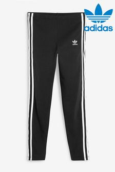 adidas Originals Black 3 Stripe Leggings