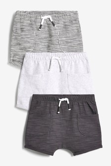 3 Pack Shorts (0mths-3yrs)