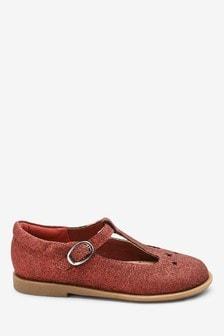 Buty dziecięce z paskiem w kształcie litery T (Młodsi)