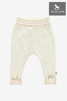 Розовые вязаные брюки для малышей The Little Tailor