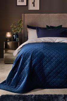 Hamilton Velvet Quilted Bedspread