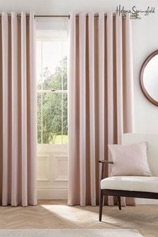 Helena Springfield Blush Eden Eyelet Curtains