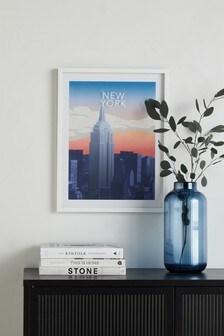 Gerahmtes Bild mit City-Motiv