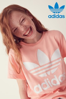 adidas Originals Pink Trefoil T-Shirt