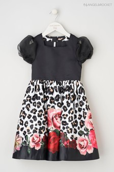 Angel & Rocket Black Rose Animal Dress