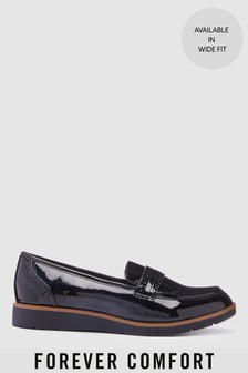 Forever Comfort® Brogue Detail Chunky Sole Loafers