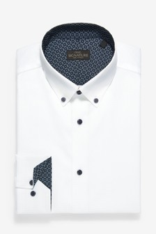 Trim Detail Signature Shirt
