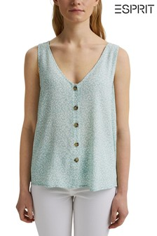 חולצה יומיומית של Esprit בירוק
