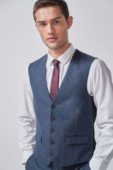 Nova Fides Wool Blend Donegal Slim Fit Suit