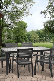 Harmony Dining Table And 6 Chairs By Keter
