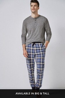 choose official top fashion discover latest trends Mens Pyjamas & Nightwear | Mens Loungewear, PJs & Robes | Next