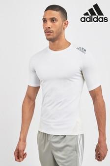 Obcisła, cienka koszulka z krótkim rękawem adidas Gym Alpha
