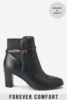 Forever Comfort®高跟短靴