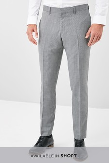 Marzotto Textured Suit: Trousers