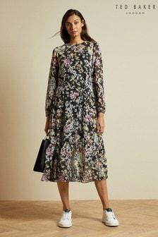 Ted Baker Rishika Jasmin Ggt Midi Dress
