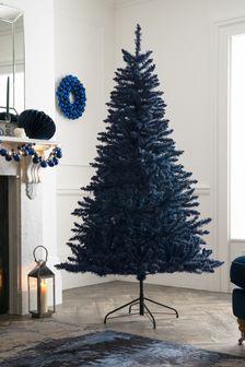 6ft Navy Flocked Christmas Tree (538532) | $159