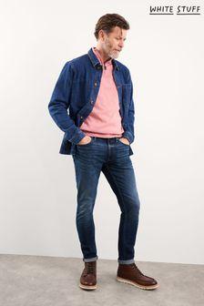 White Stuff Blue Harwood Slim Jeans