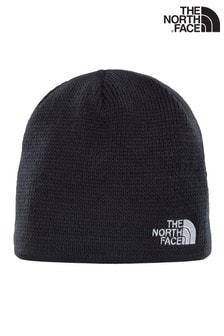 The North Face® - Zwarte bones beanie-muts