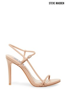 Steve Madden Nude Oaklyn Strappy Heeled Sandals