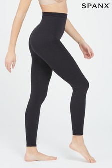 SPANX® 黑色高腰Look At Me Now緊身褲