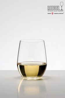 Set of 2 Riedel O Viognier Chardonnay Wine Tumblers