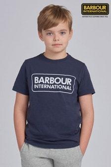 Barbour® International Boys Essential Logo T-Shirt