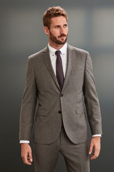 Костюм из английской шерстяной фланели Empire Mills Signature: пиджак
