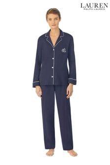 Conjunto de pijama de modal en azul marino de Lauren Ralph Lauren®