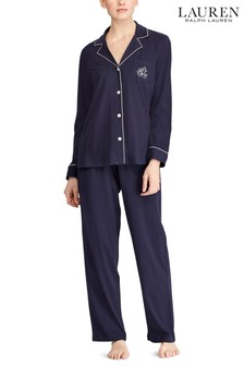 Set pijama din modal Lauren Ralph Lauren® bleumarin
