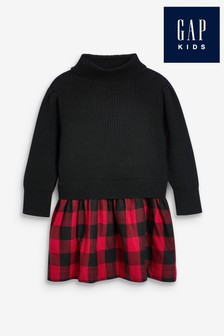 Gap Pulloverkleid mit Buffalo-Karomuster
