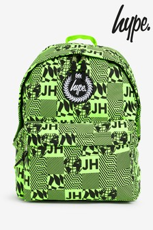 Hype. Neon Repeat Square Backpack