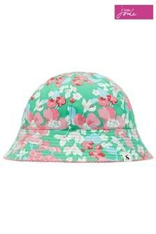 Joules綠色Funseeker雙面帽
