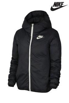 Nike Black NSW Down Fill Reversible Jacket