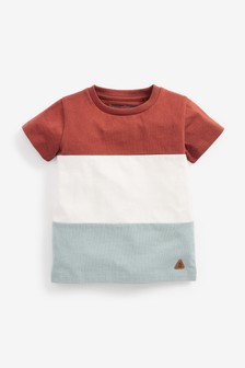 Colourblock Jersey T-Shirt (3mths-7yrs)
