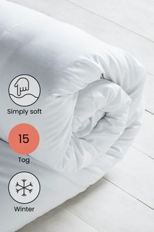 """Simply Soft"" Bettdecke, 15 Tog"