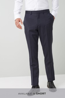 Skinny Fit Marzotto Signature Suit: Trousers