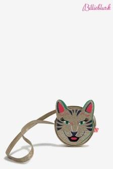 Billieblush Gold Cat Crossbody Bag