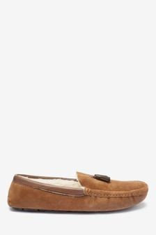 Tassel Moccasin Slippers
