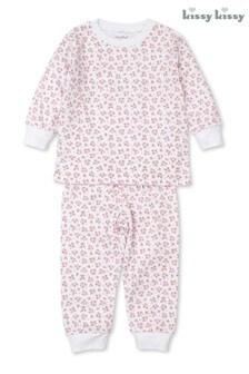 Kissy Kissy Pink Pima Cotton Floral Pyjamas