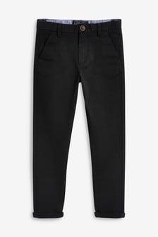 Удлиненные брюки чинос (3-16 лет)