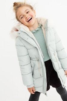معطف مبطن (3-16 سنة)