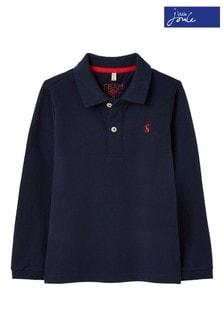 Koszulka polo z długim rękawem Joules Woodwell Mini Me 1-12 lat