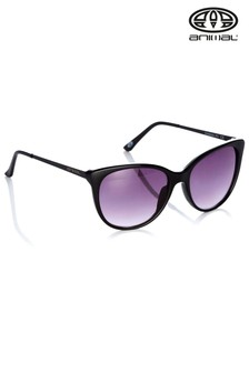 Animal Radiance II Übergröße Sonnenbrille, schwarz