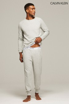Calvin Klein Grey Modern Cotton Blend Sweat Pant