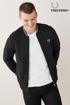 Fred Perry Zip Through Sweatshirt