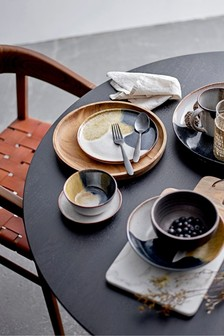 Bloomingville Grey/Multi Jules Stoneware Plate