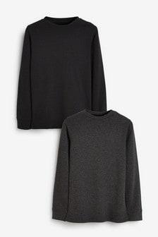 Set 2 bluze călduroase cu mânecă lungă (2-16ani)