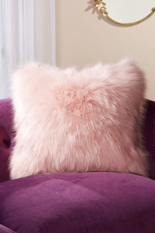 Arctic Cosy Faux Fur Square Cushion